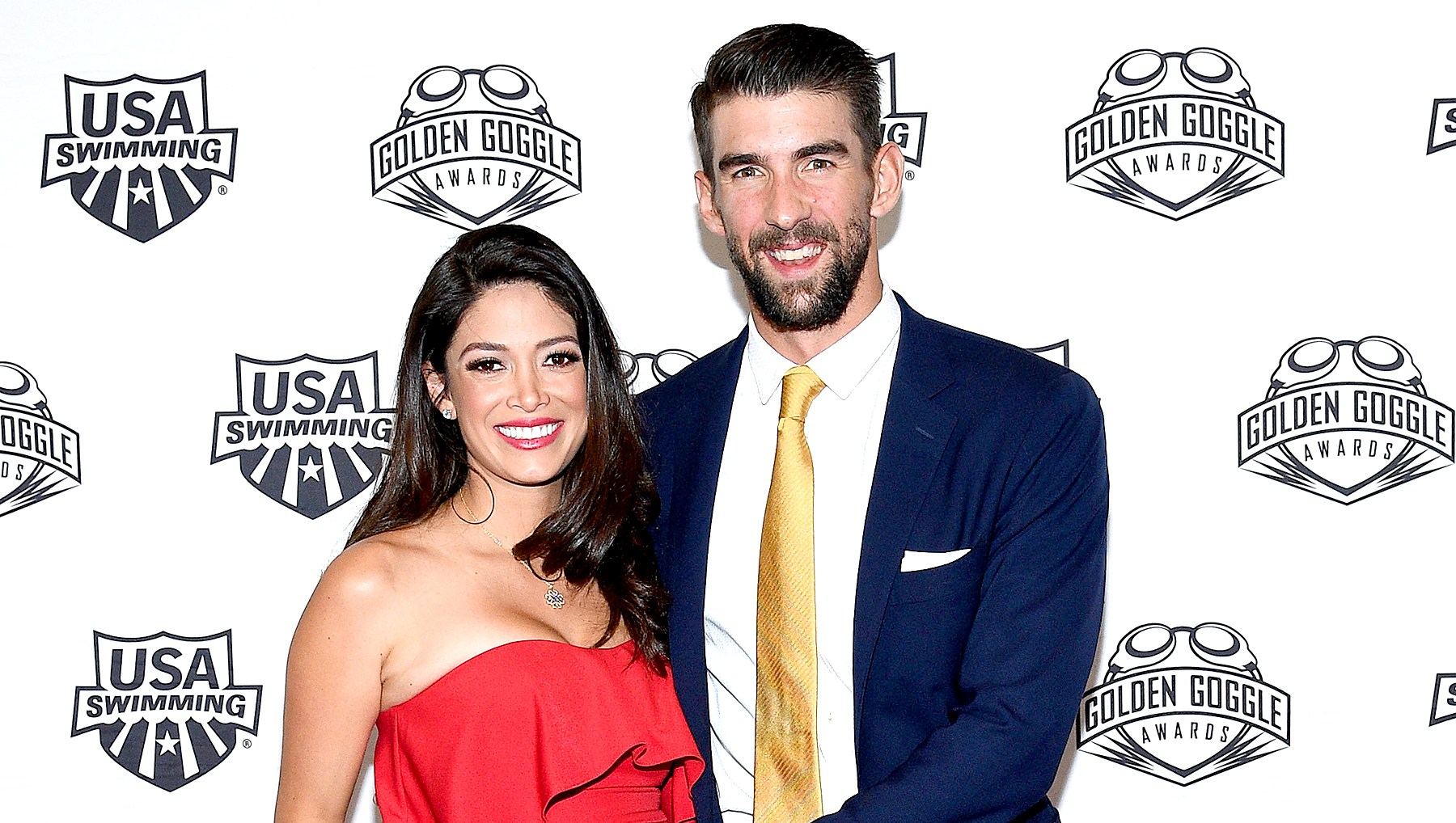 Michael-Phelps-and-Nicole-Johnson