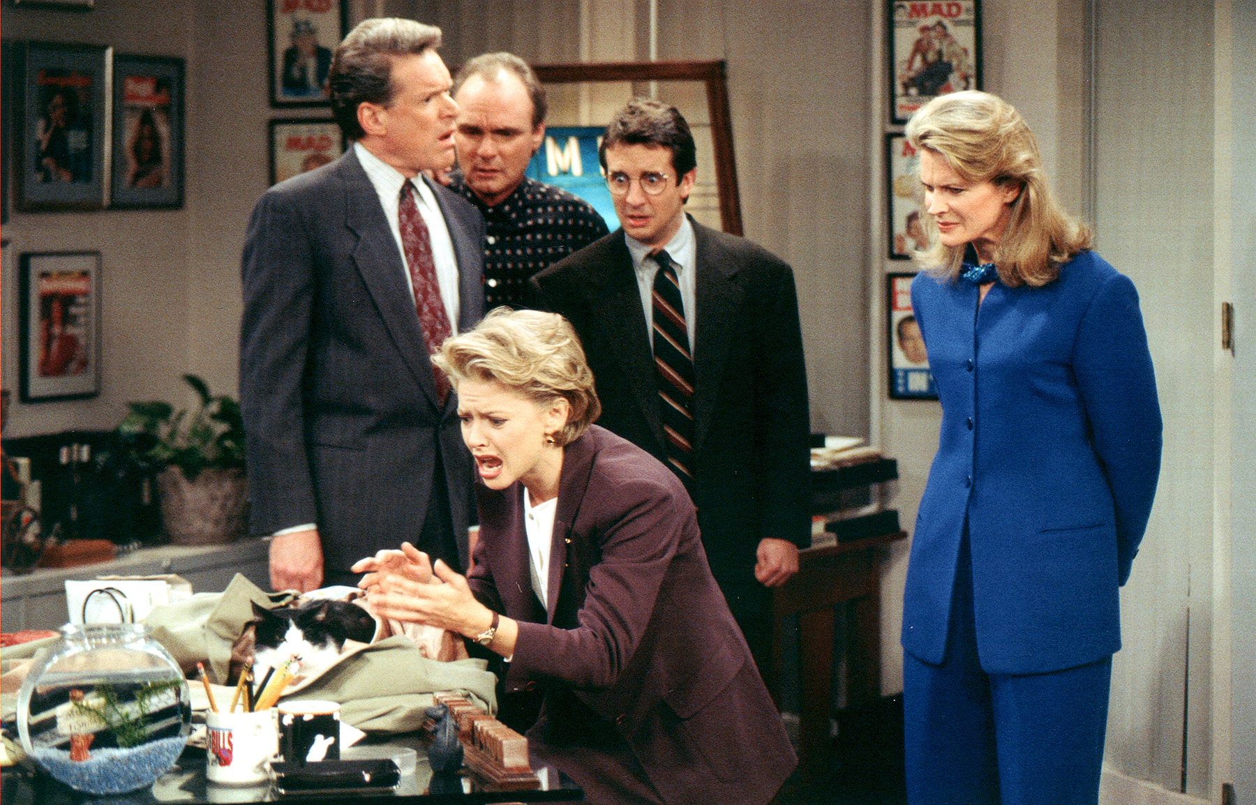 Candice Bergen Returning To Star In New 'Murphy Brown' Revival On CBS