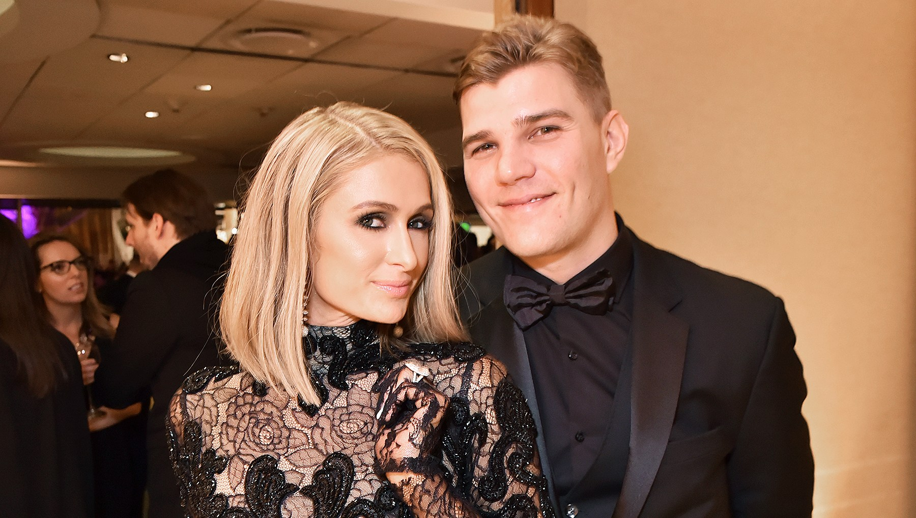 Paris Hilton Chris Zylka Three Weddings