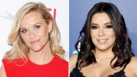 Reese Witherspoon Eva Longoria Time's Up March Golden Globes 2018