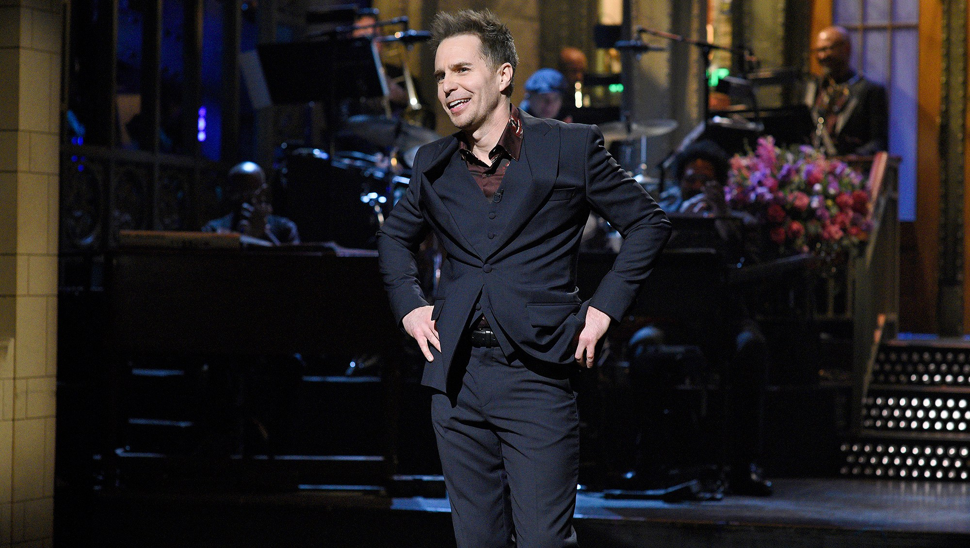 Sam Rockwell, Saturday Night Live, Opening Monologue