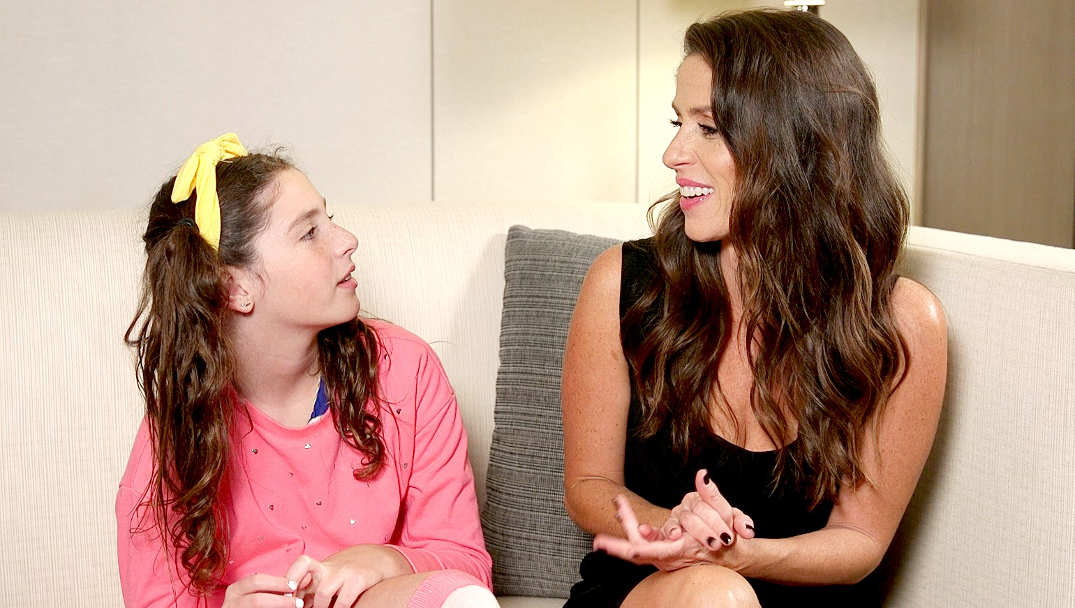 Soleil Moon Frye and daughter Jagger
