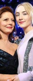 Susan Sarandon Saoirse Ronan SAGs 2018 audience