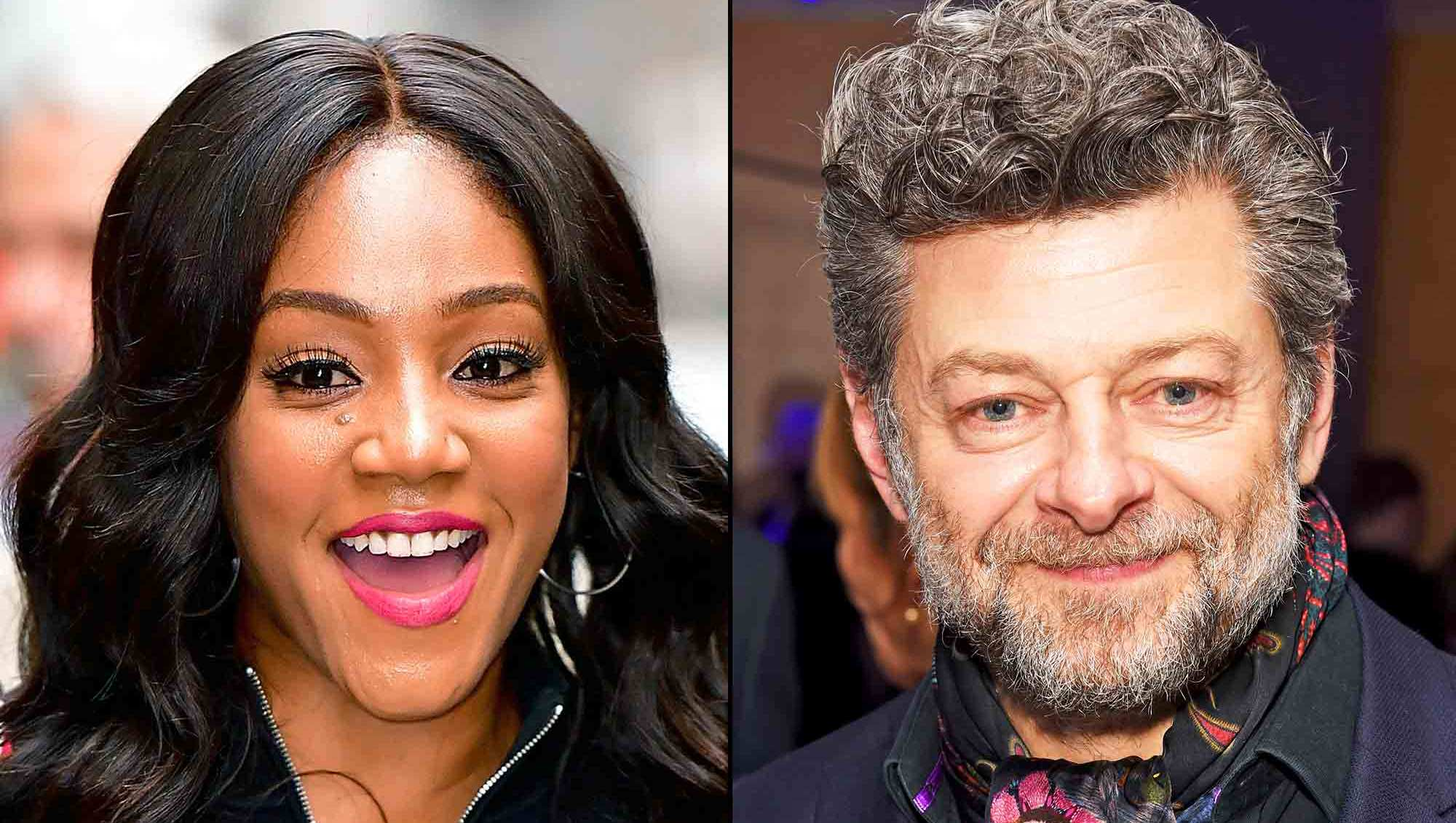 Tiffany Haddish and Andy Serkis