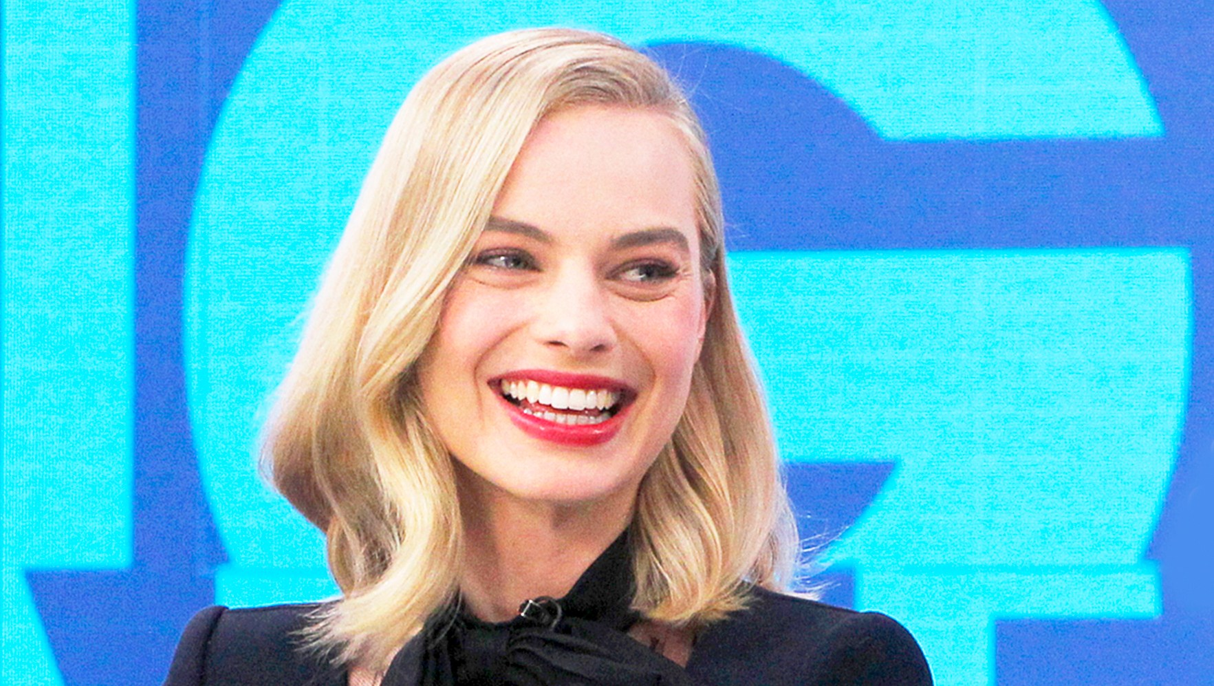 Margot Robbie on 'Good Morning America' show