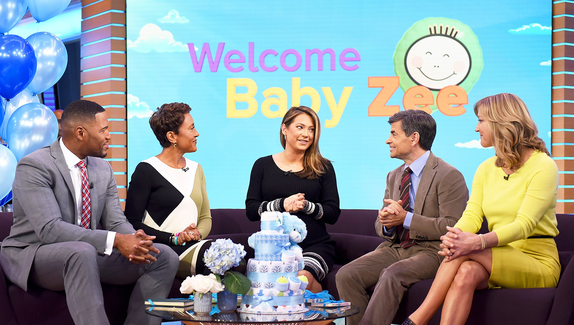 It's a surprise baby shower for Ginger Zee on 'Good Morning America'