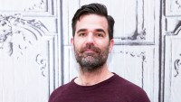 """Rob Delaney attends the AOL Studios series to discuss """"Catastrophe"""" Season 2 in New York City."""