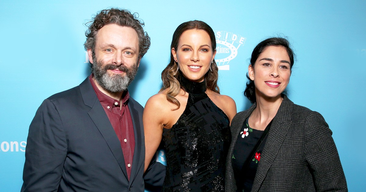 Kate Beckinsale Teases Sarah Silverman About Michael Sheen