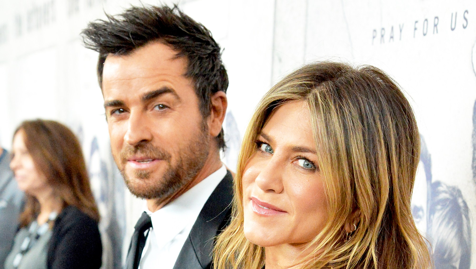 """Justin Theroux and Jennifer Aniston attend HBO's """"The Leftovers"""" season 3 premiere and after party at Avalon Hollywood on April 4, 2017 in Los Angeles, California."""