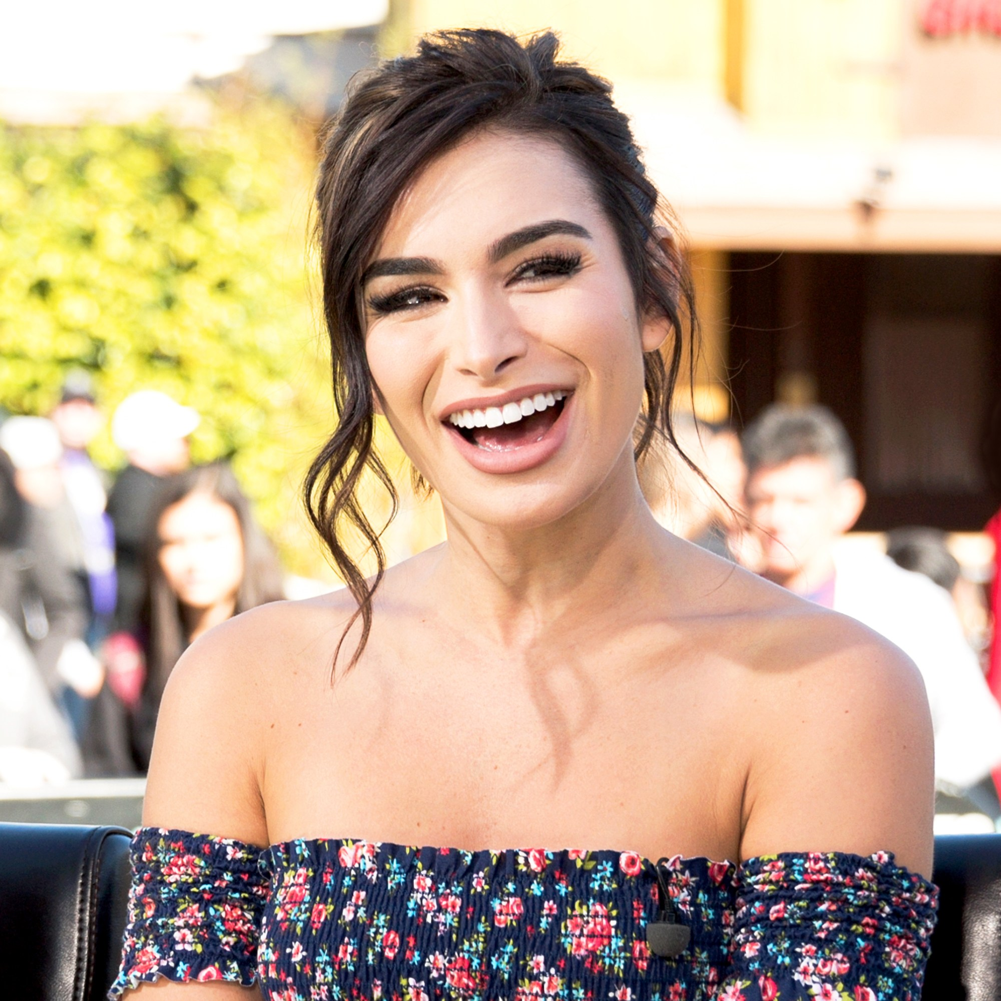 Ashley Iaconetti visits Universal Studios Hollywood on February 20, 2018 in Universal City, California.