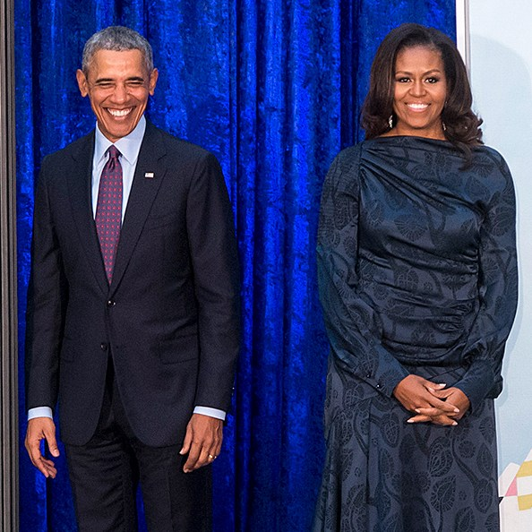 Obamas Unveil Official Portraits at Smithsonian National Portrait Gallery