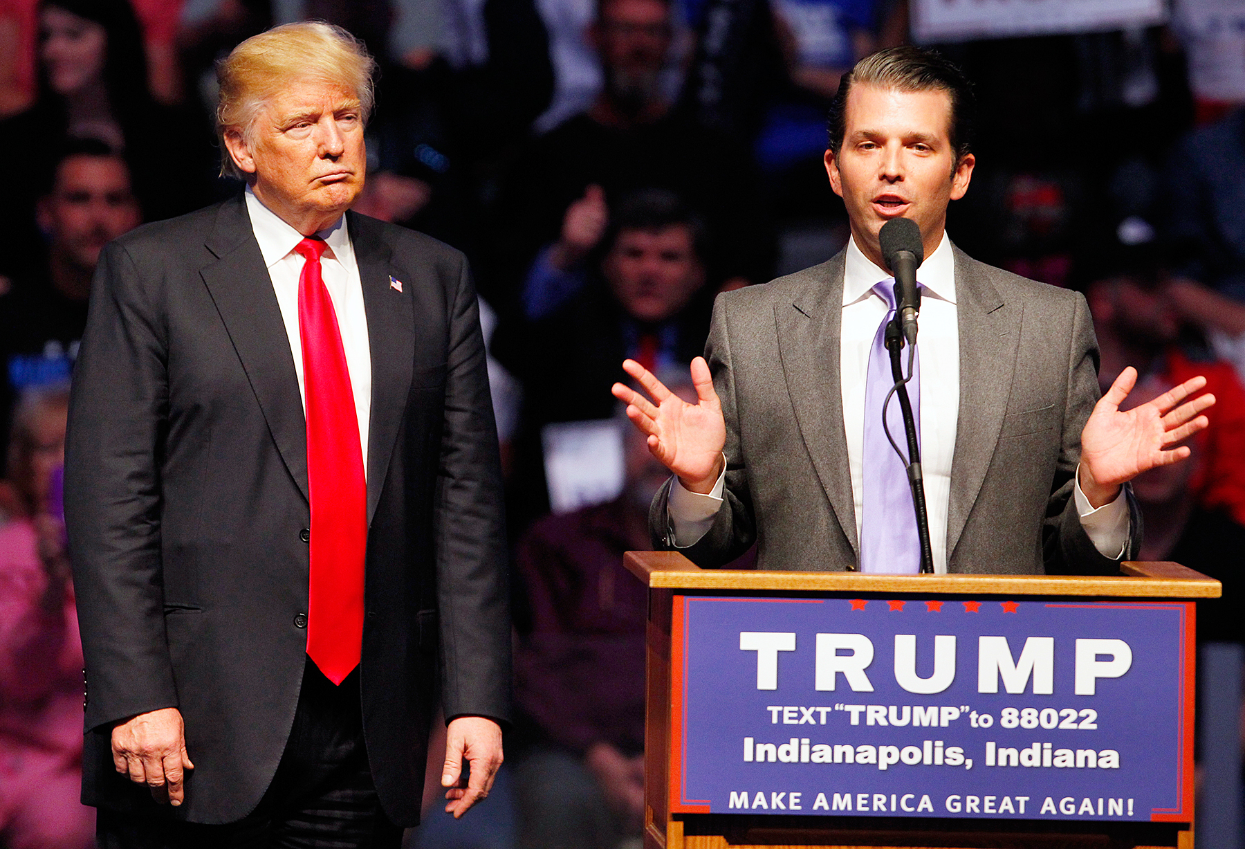 Donald Trump Jr's wife hospitalised after opening mail containing white powder