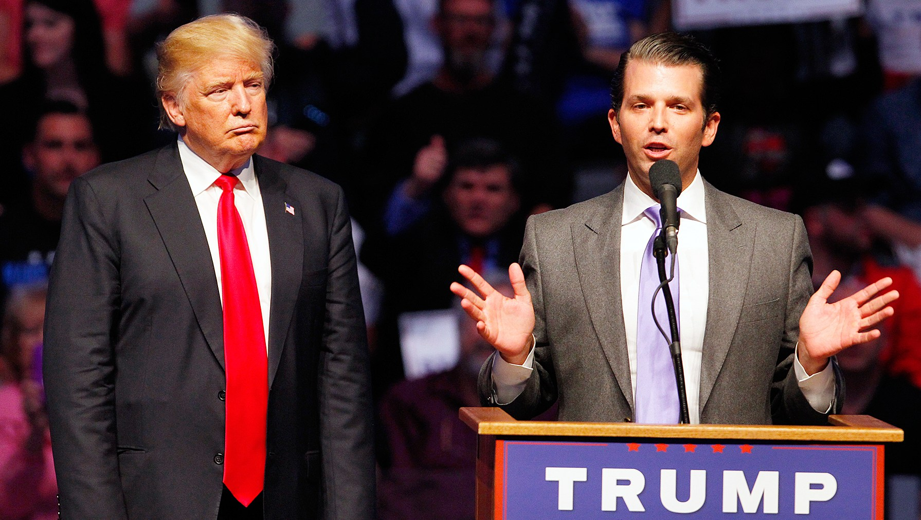 White Powder Letter to Donald Trump Jr Said Awful Person