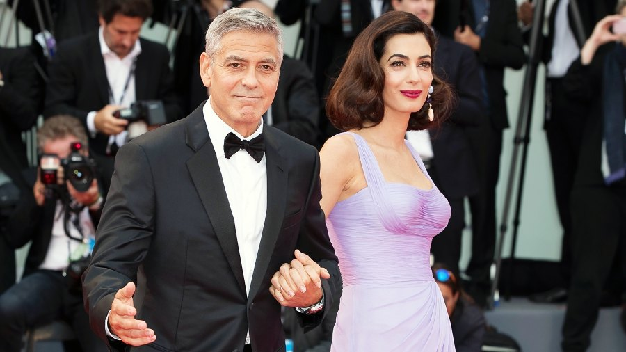 George Clooney Amal Clooney 40th Birthday