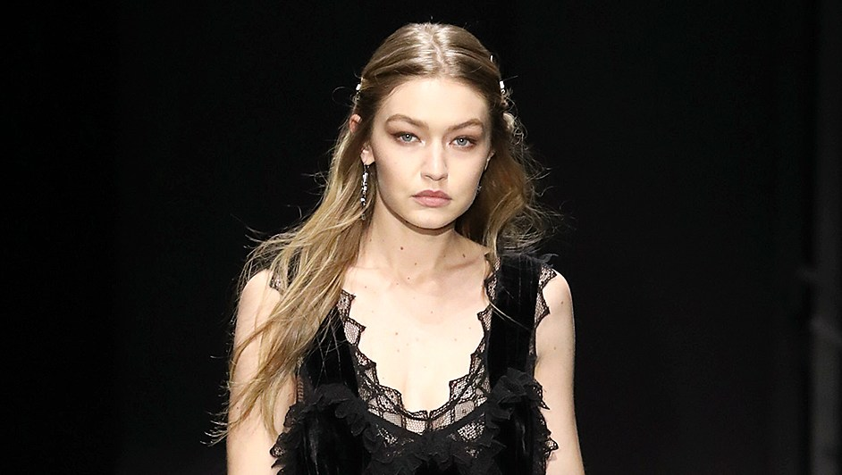Gigi Hadid Bottega Veneta Fall/Winter 2018 Collection New York Fashion Week