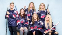 The USA Women's Hockey Team