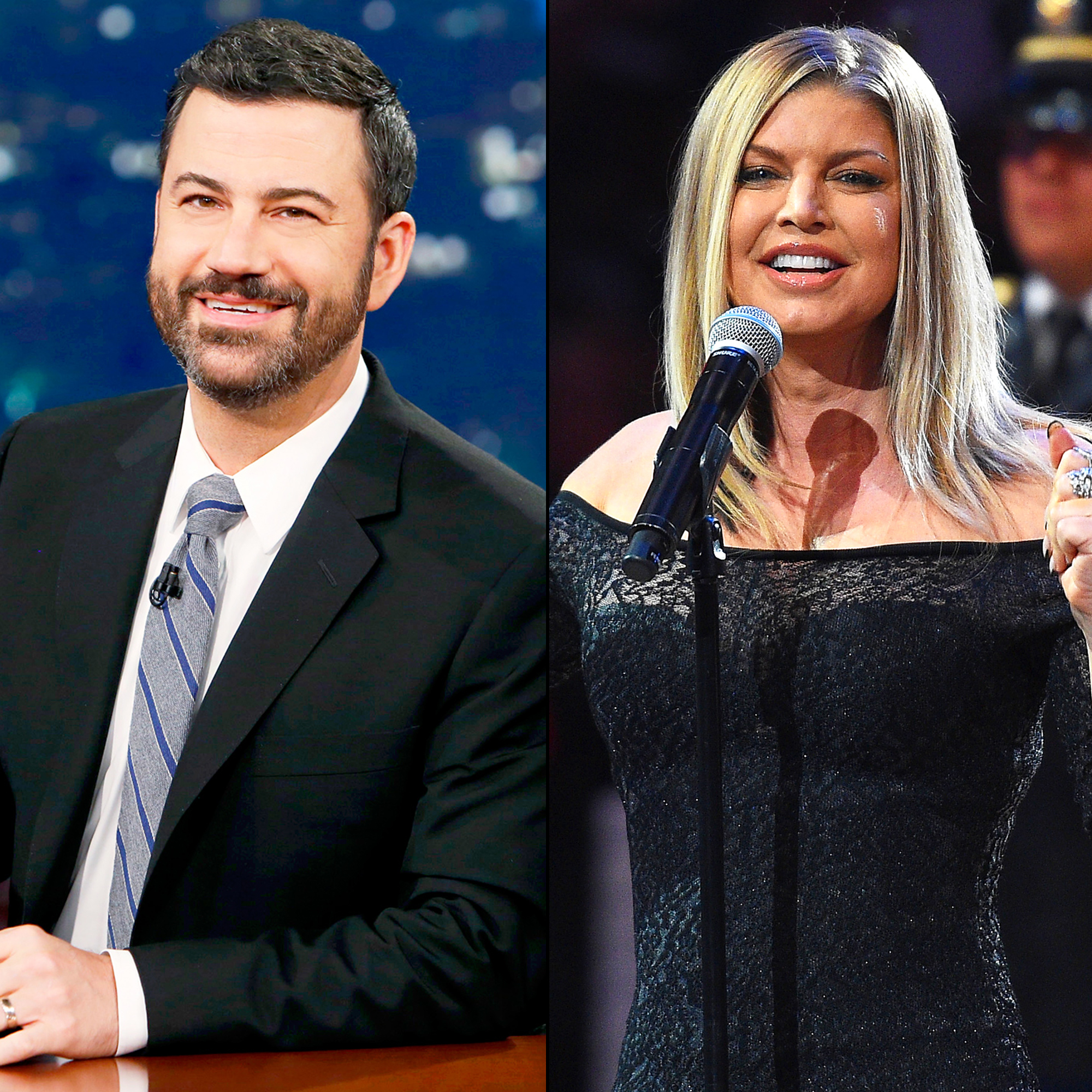 Jimmy Kimmel and Fergie