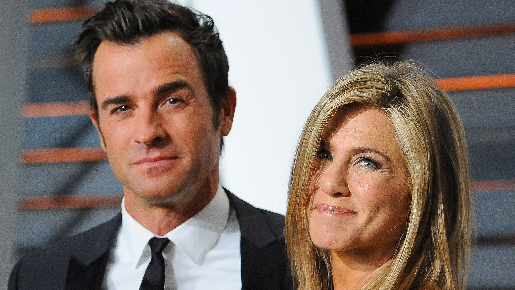 Justin Theroux and actress Jennifer Aniston