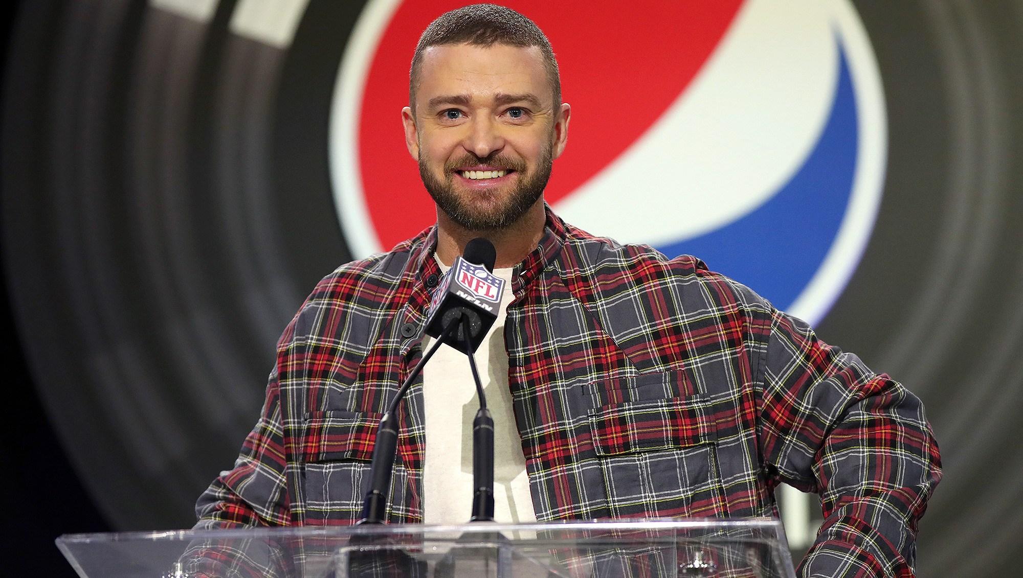 Justin Timberlake, Super Bowl, Halftime Show, Performance