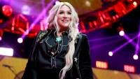 Kesha performs onstage