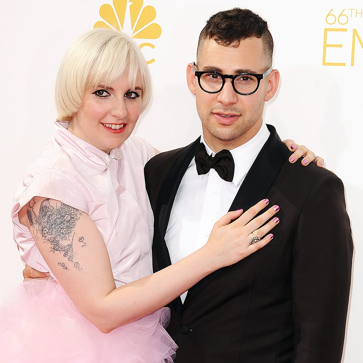 Jack Antonoff Supportive of Lena Dunham