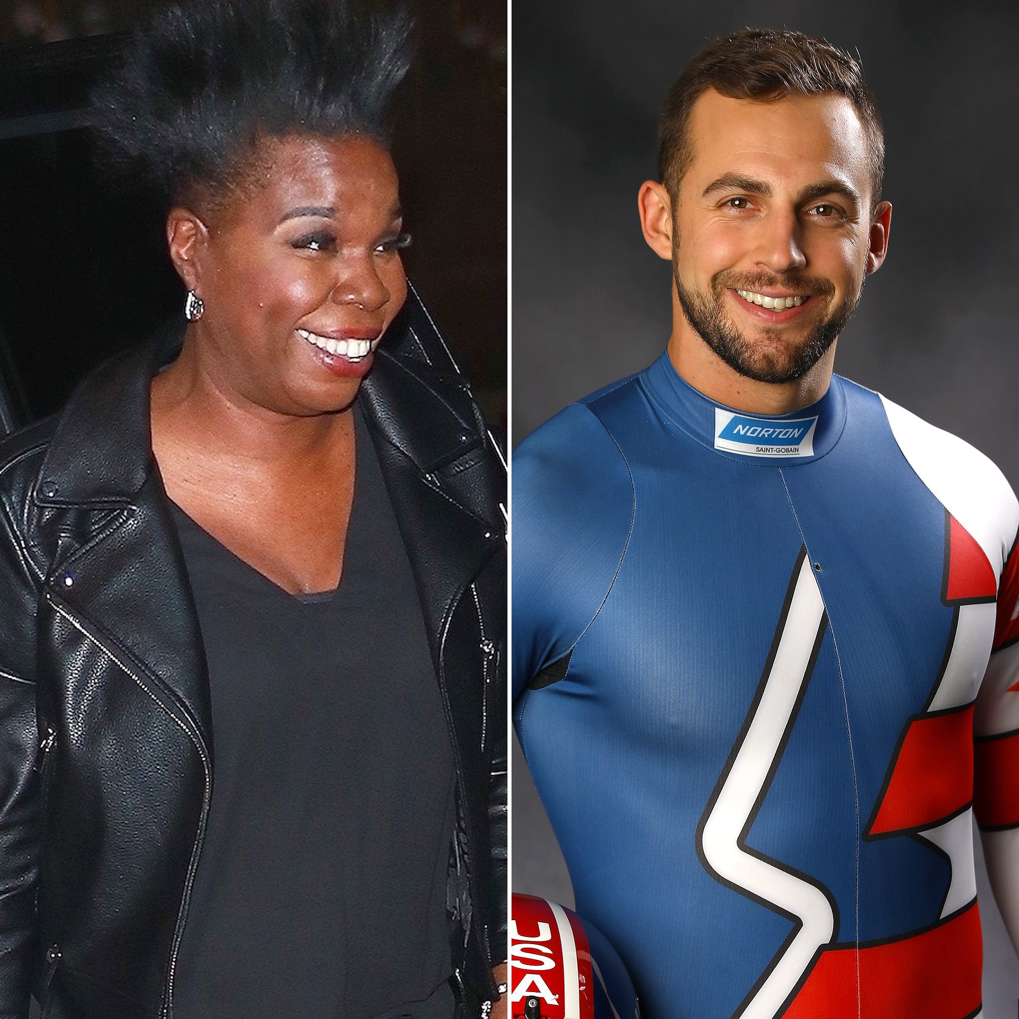 Leslie Jones Chris Mazder Olympics Luge