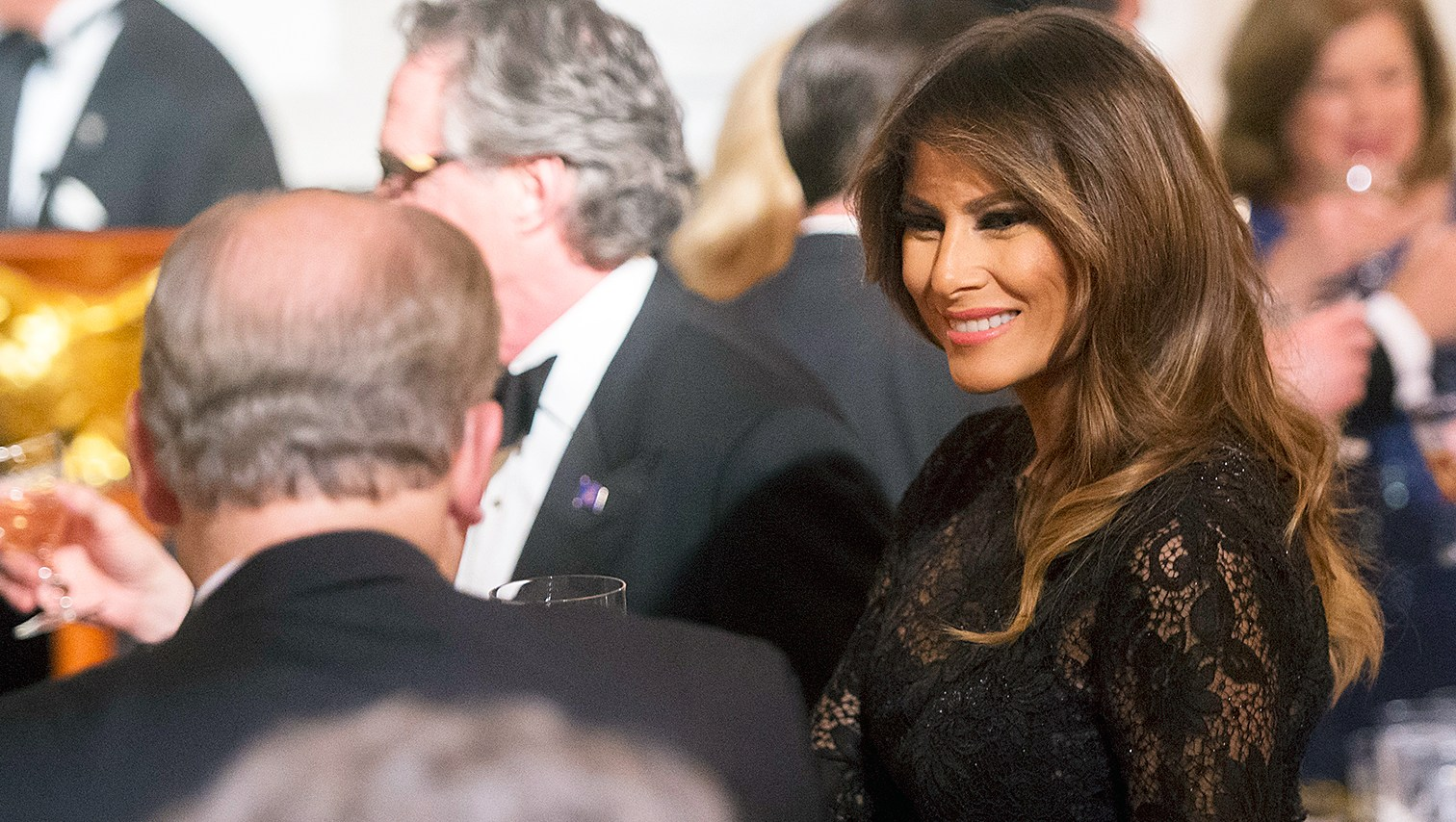 Melania Trump Steps Out After Donald Trump Affair Allegations