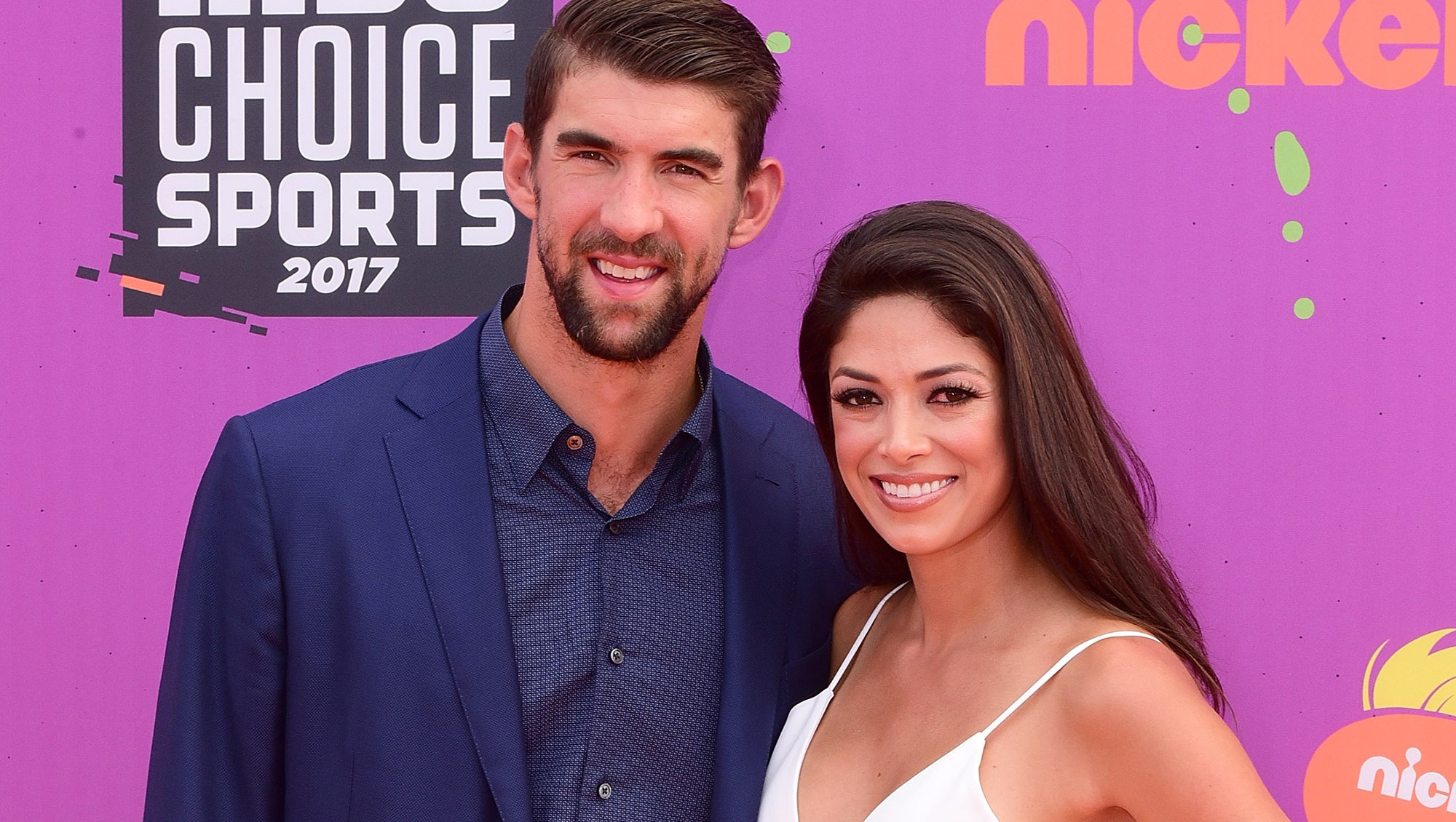 Olympic Swimmer Michael Phelps and wife Nicole Johnson