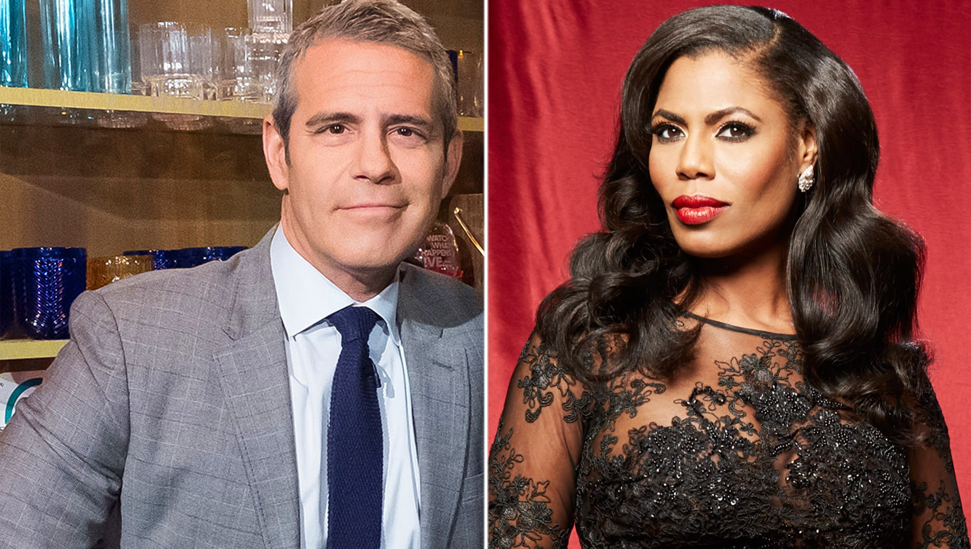 Andy Cohen and Omarosa