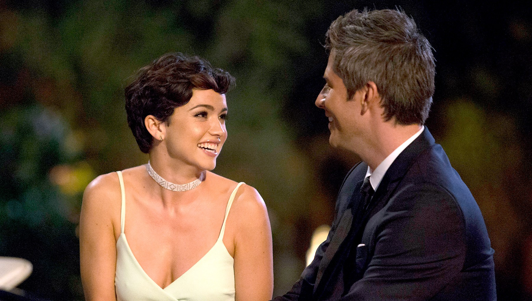 Beckah M. and Arie on The Bachelor
