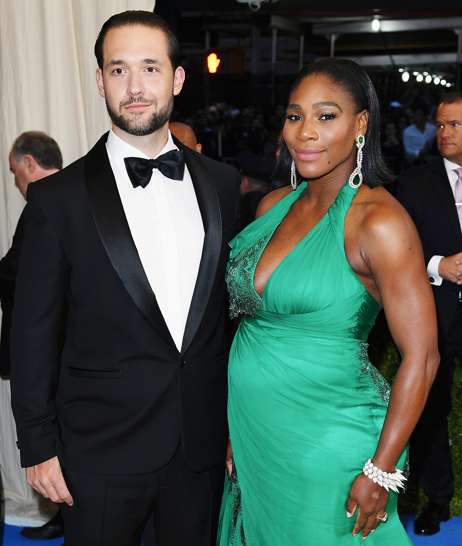 Serena Williams was brought to tears by her husband's romantic billboard surprise