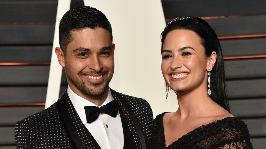 Wilmer Valderrama and singer Demi Lovato