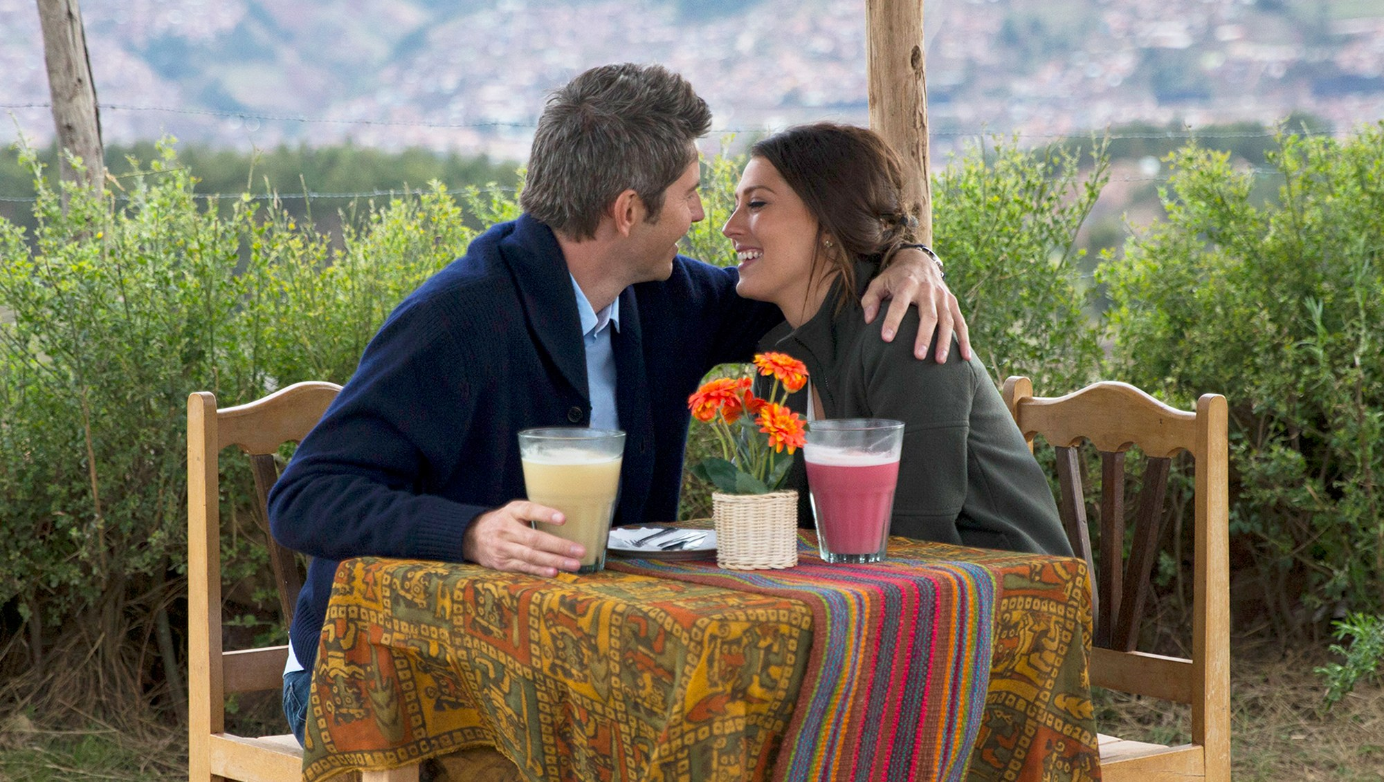 Arie Luyendyk Jr. and Becca Kufrin on 'The Bachelor'