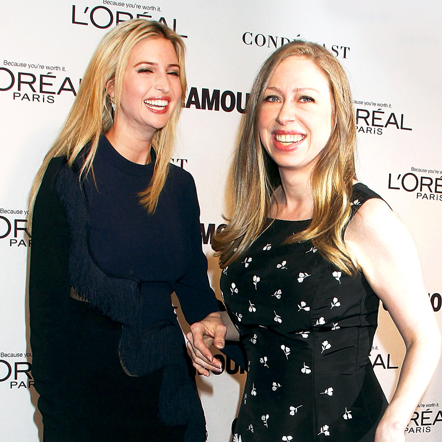 Ivanka Trump and Chelsea Clinton attend the 2014 Glamour Women Of The Year Awards at Carnegie Hall in New York City.