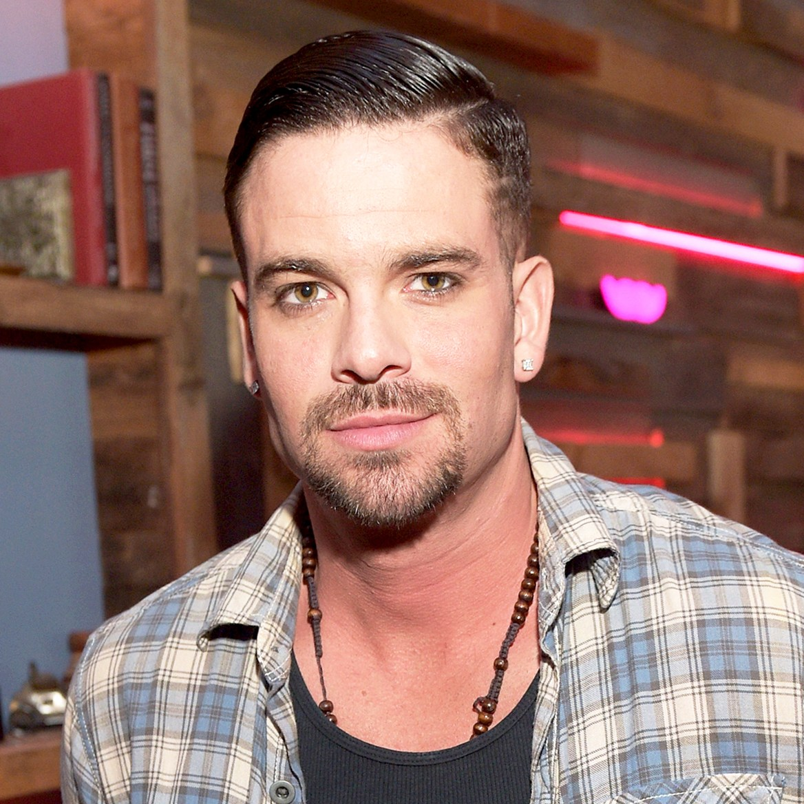 Mark Salling attends the NYLON Young Hollywood 2015 Party at HYDE Sunset: Kitchen + Cocktails in West Hollywood, California.
