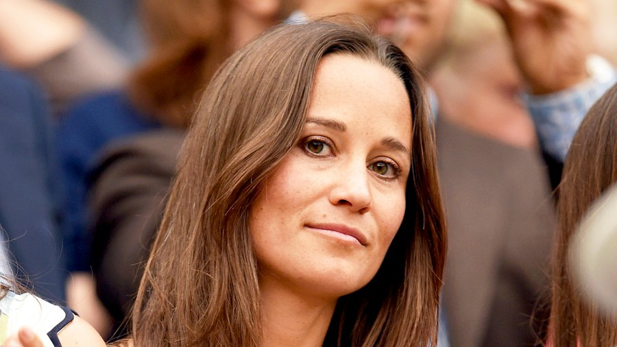 Pippa Middleton attends the Wimbledon Tennis 2015 Championships at Wimbledon in London, England.