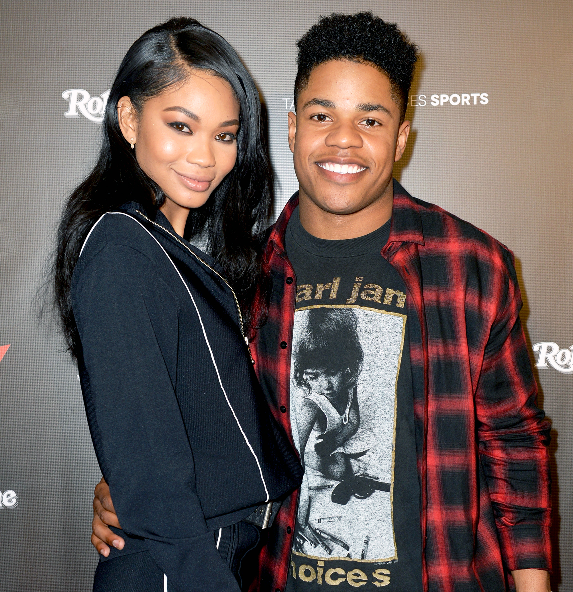 Baby Bump Watch! Chanel Iman And Hubby Sterling Shepard Are Expecting