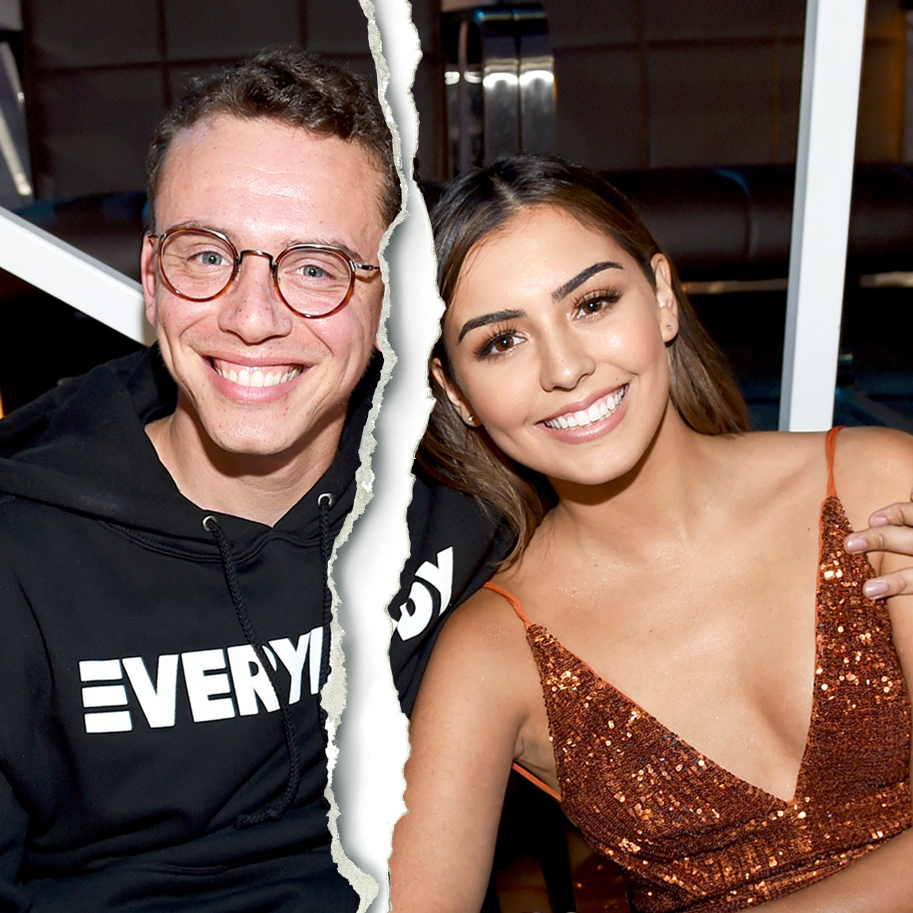 Logic and Jessica Andrea attend the 2017 MTV Video Music Awards at The Forum in Inglewood, California.