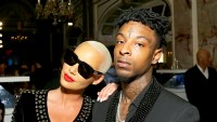 """Amber Rose and 21 Savage attend Harper's BAZAAR 2017 Celebration of """"ICONS By Carine Roitfeld"""" at The Plaza Hotel in New York City"""