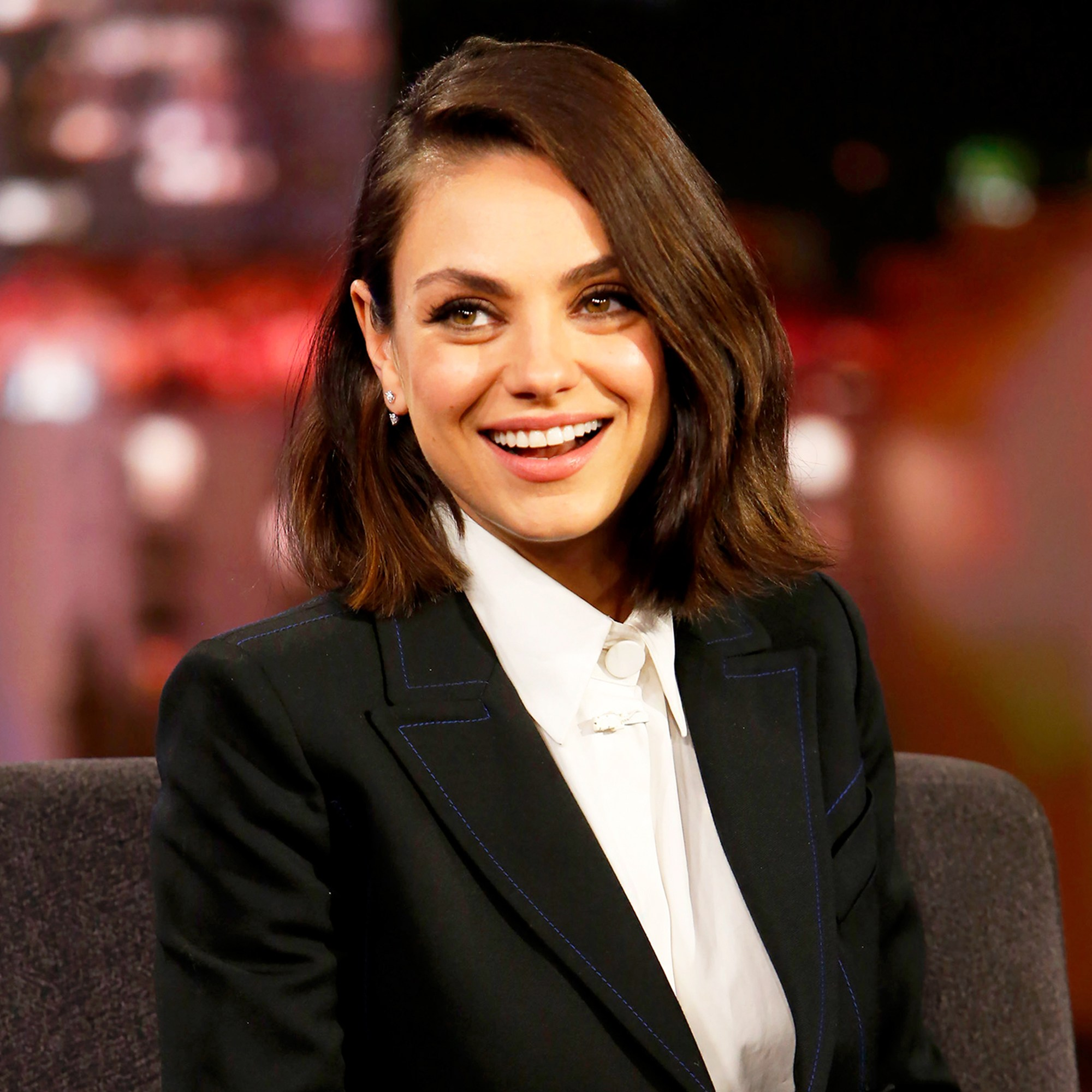 Mila Kunis on ABC's 'Jimmy Kimmel Live'