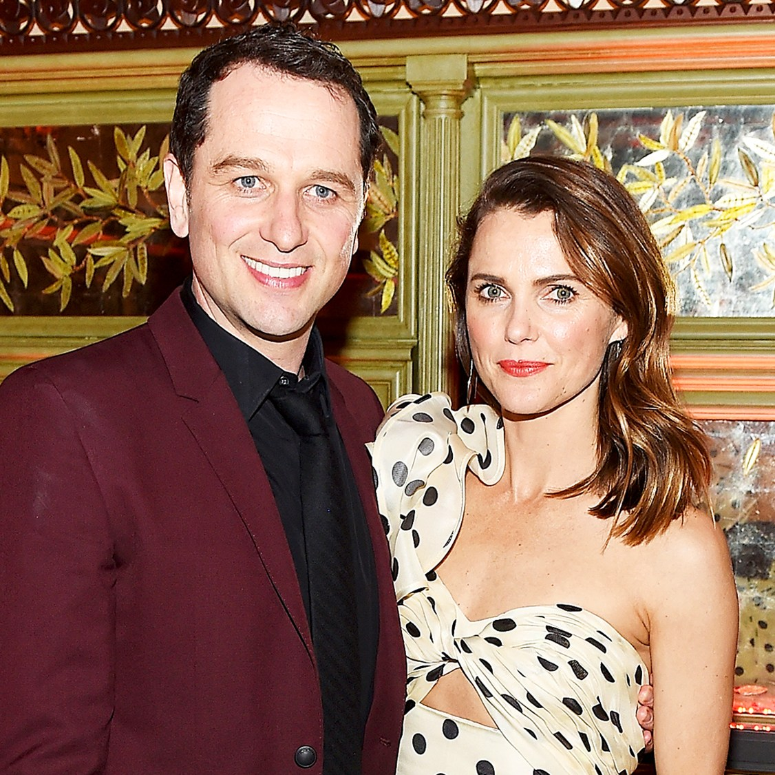 Matthew Rhys and Keri Russell attend 'The Americans' Season 6 Premiere After Party at Tavern On The Green on March 16, 2018 in New York City.