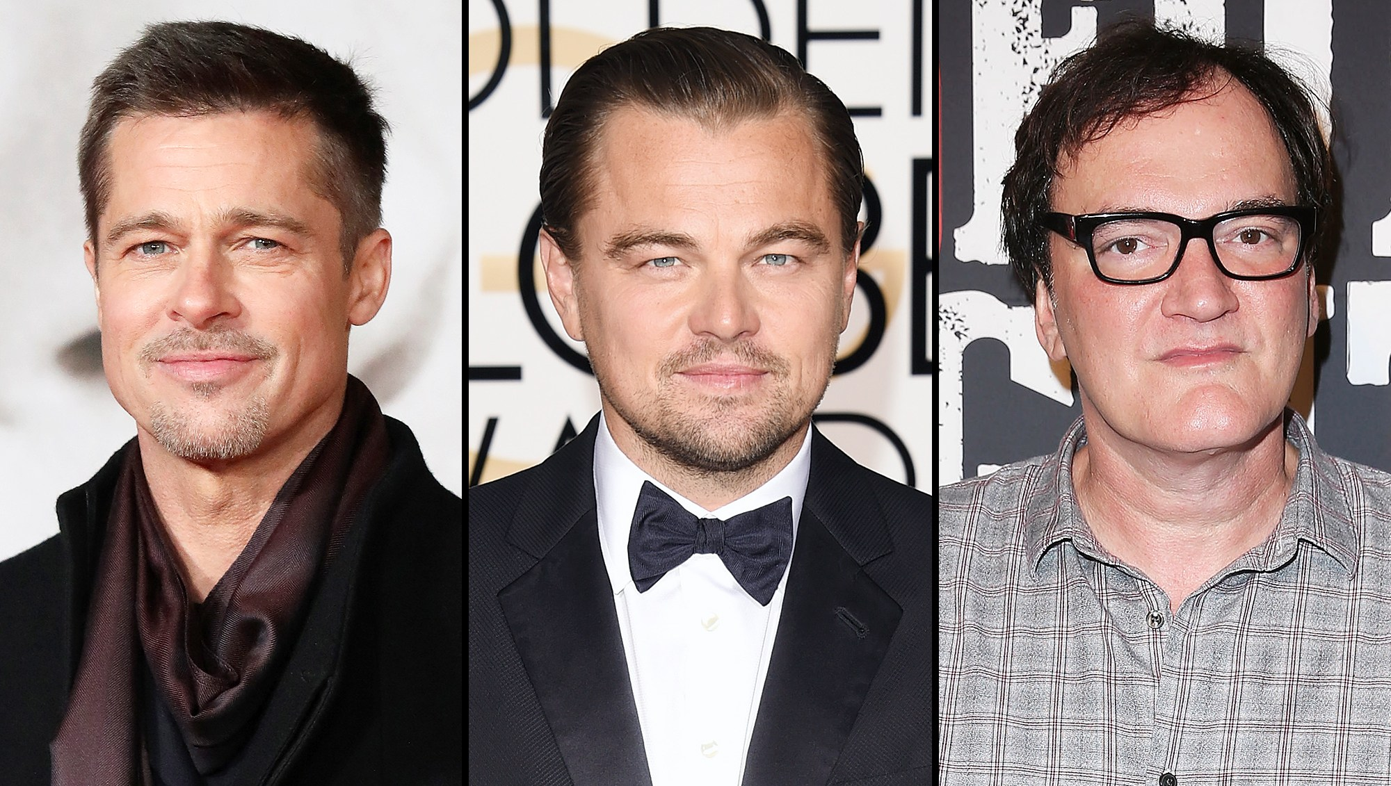 Brad Pitt Joins Leonardo DiCaprio in Quentin Tarantino Manson Movie