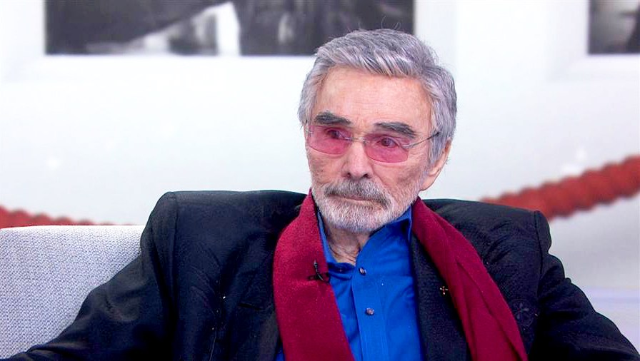 Burt Reynolds on 'Today' show