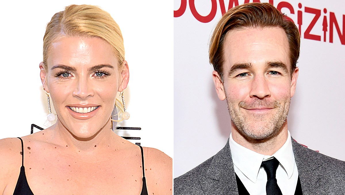 Busy Philipps and James Van Der Beek