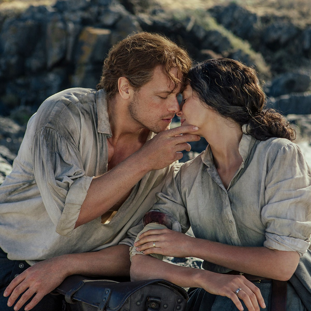Caitriona Balfe and Sam Heughan outlander