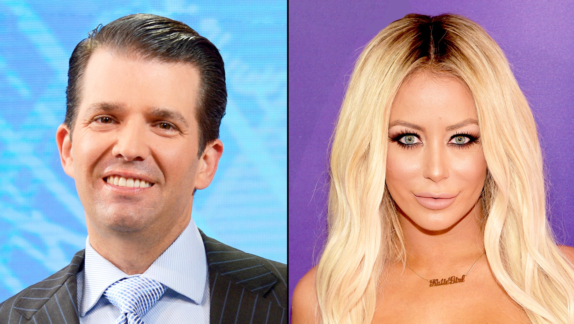 Donald Trump Jr. and Aubrey O'Day