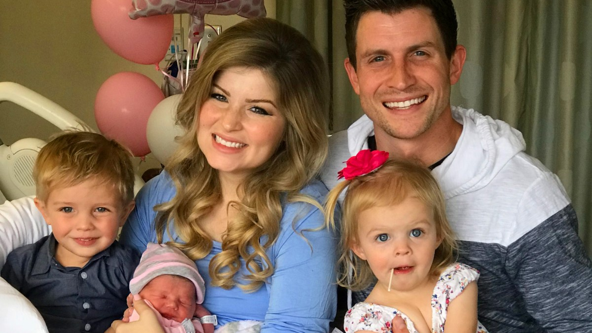 Bringing Up Bates' Erin and Chad Paine Welcome Baby No  3