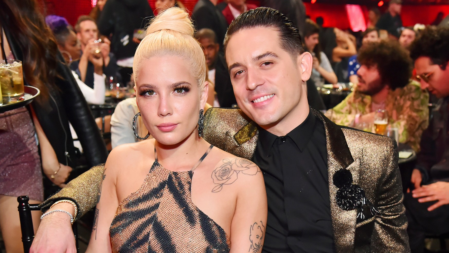 Halsey and G-Eazy talk collaboration