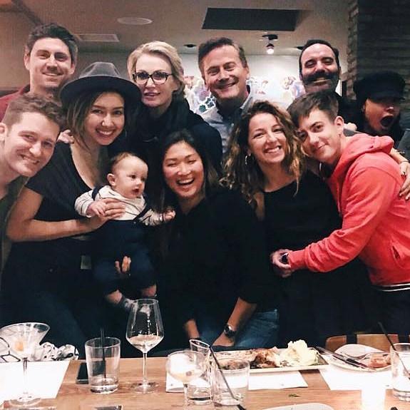 Glee Cast Reunites After Mark Salling Death