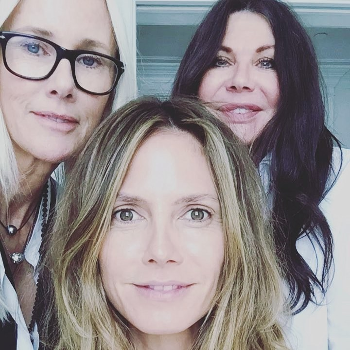 Stars Getting Ready Oscars 2018 Heidi Klum